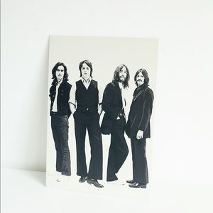 The Beatles Magnetic Wall Haning Art